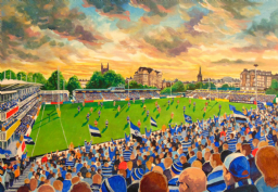the recreation ground a3 size print